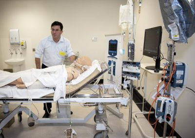 Intensive Care patient scenario